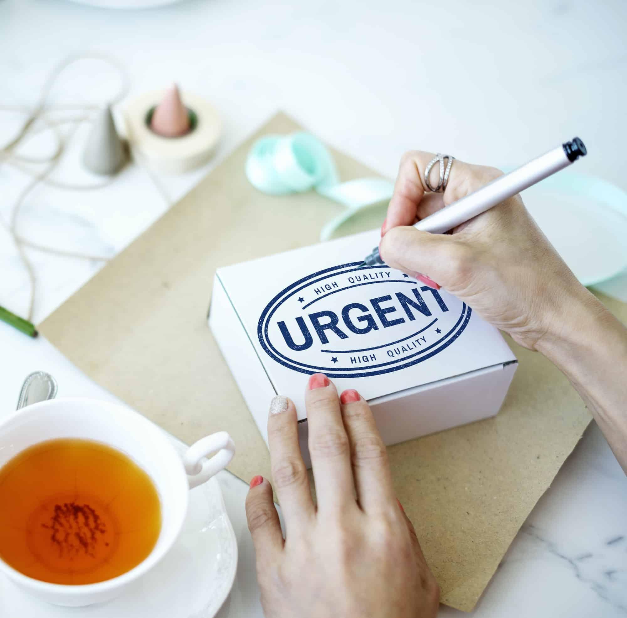 Urgent Important Priority
